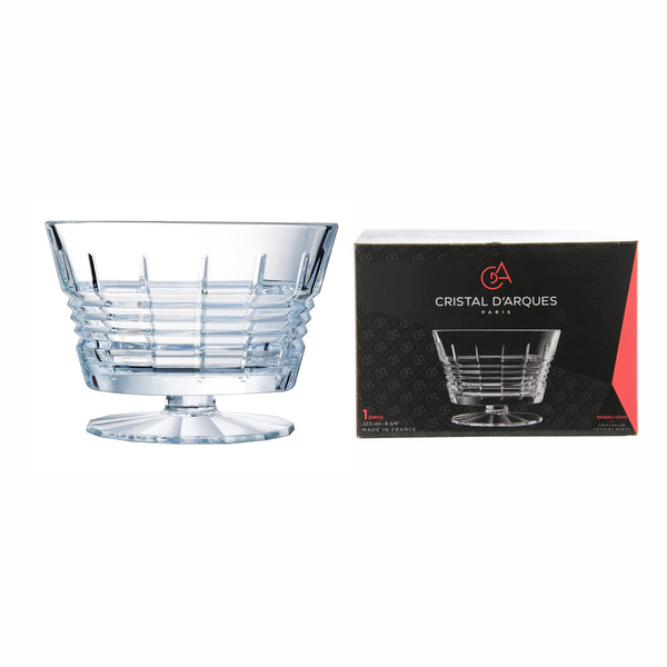 CRISTAL DARQUES RENDEZ-VOUS FOOTED BOWL (2.75L) (225MM:DIAX157MM:H)