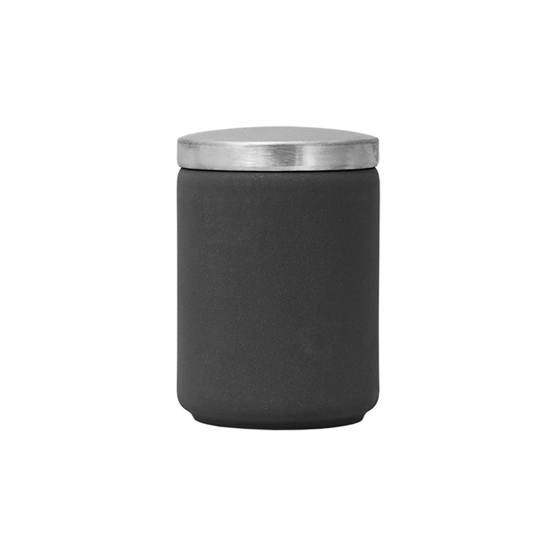 LUMINARC LOFT IND STONY GREY JAR WITH LID (1L)
