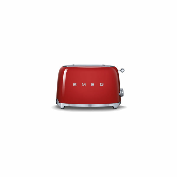 SMEG 50S RETRO STYLE FIERY RED 2-SLICE TOASTER
