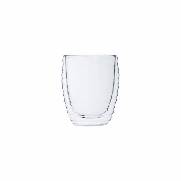 REGENT DOUBLE WALL WAVY GLASS BOROSILICATE (300ML)