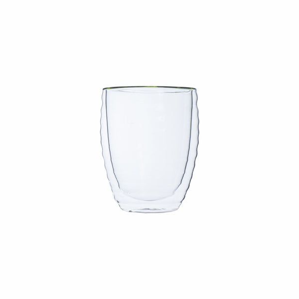 REGENT DOUBLE WALL WAVY GLASS BOROSILICATE (350ML)