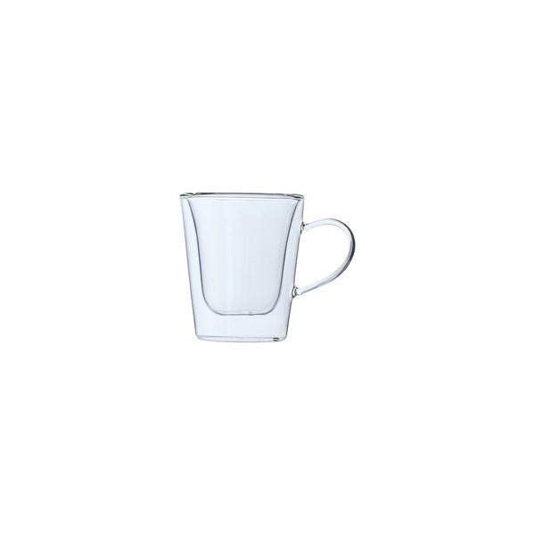 REGENT DOUBLE WALLED GLASS ESPRESSO CUP, 2 PACK (100ML) - REGENT (30391)