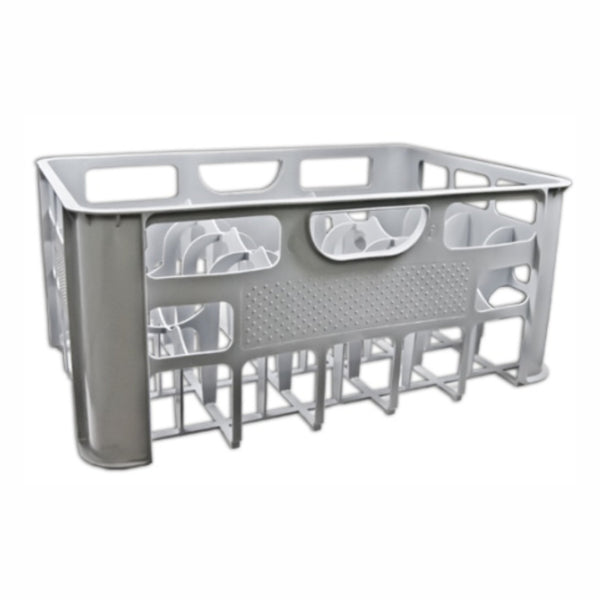 REGENT 24 COMPARTMENT GREY PLASTIC CRATE