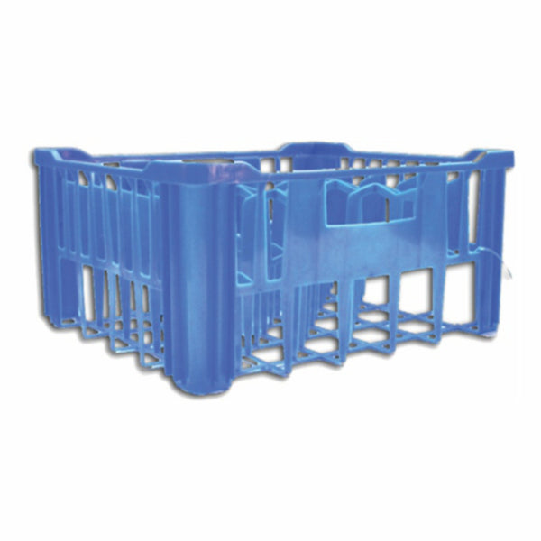 REGENT DEEP 30 COMPARTMENT BLUE PLASTIC CRATE