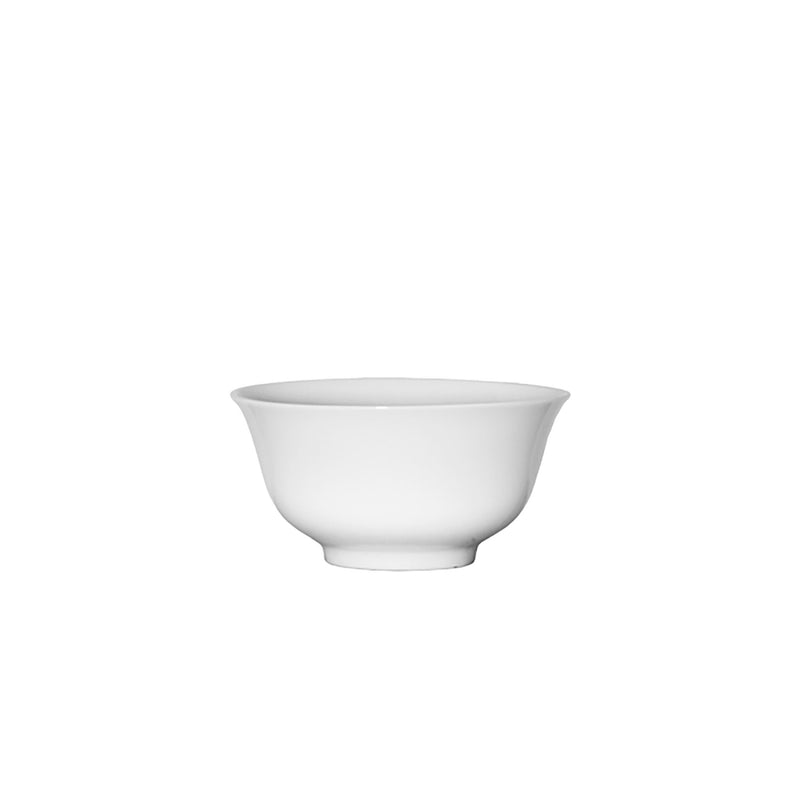 SERVEWARE RICE BOWL CERAMIC WHITE (150MM:DIA)