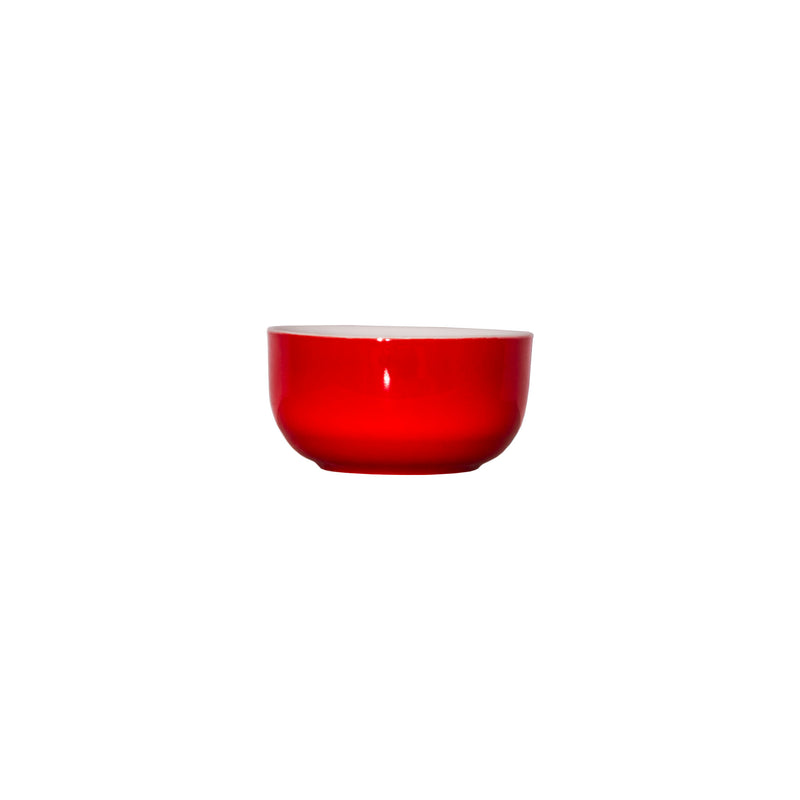 SERVEWARE CERAMIC BOWL RED (115MM:DX55MM)