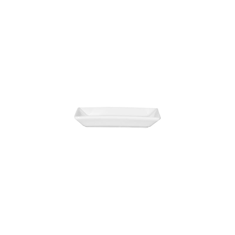 SERVEWARE CERAMIC SQUARE SMALL TAPAS DISH WHITE,(125X125MM)