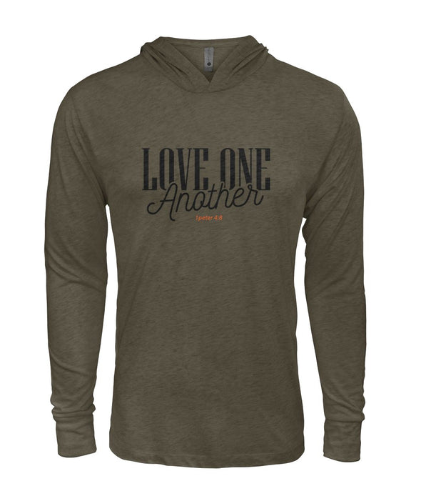Love One Another ... Long Sleeve T-Shirt Hoodie