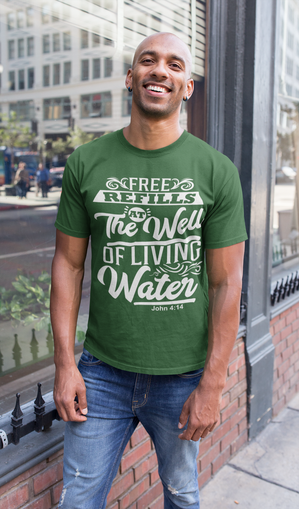 Free Refills At The Well - Men's Tee