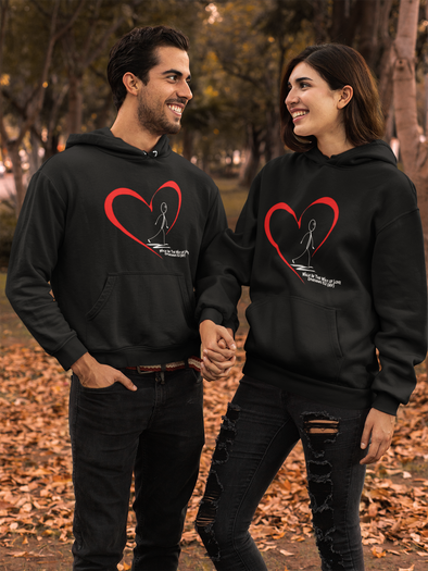 Walk in the Way ... Unisex Hoodie Black