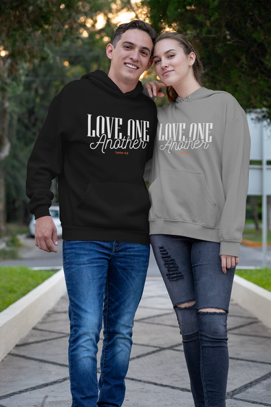 Love One Another ... Dark Unisex Hoodie Colors