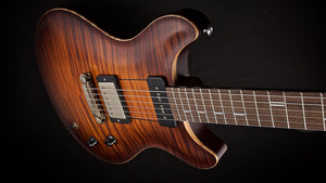 Patrick James Eggle Macon Carved Top Flame Maple Top #15185