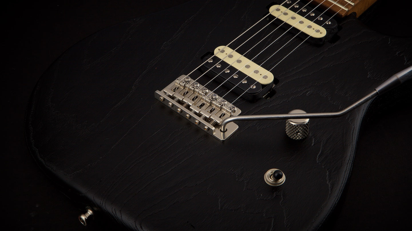 Luxxtone Guitars EL Machete Textured Black #119