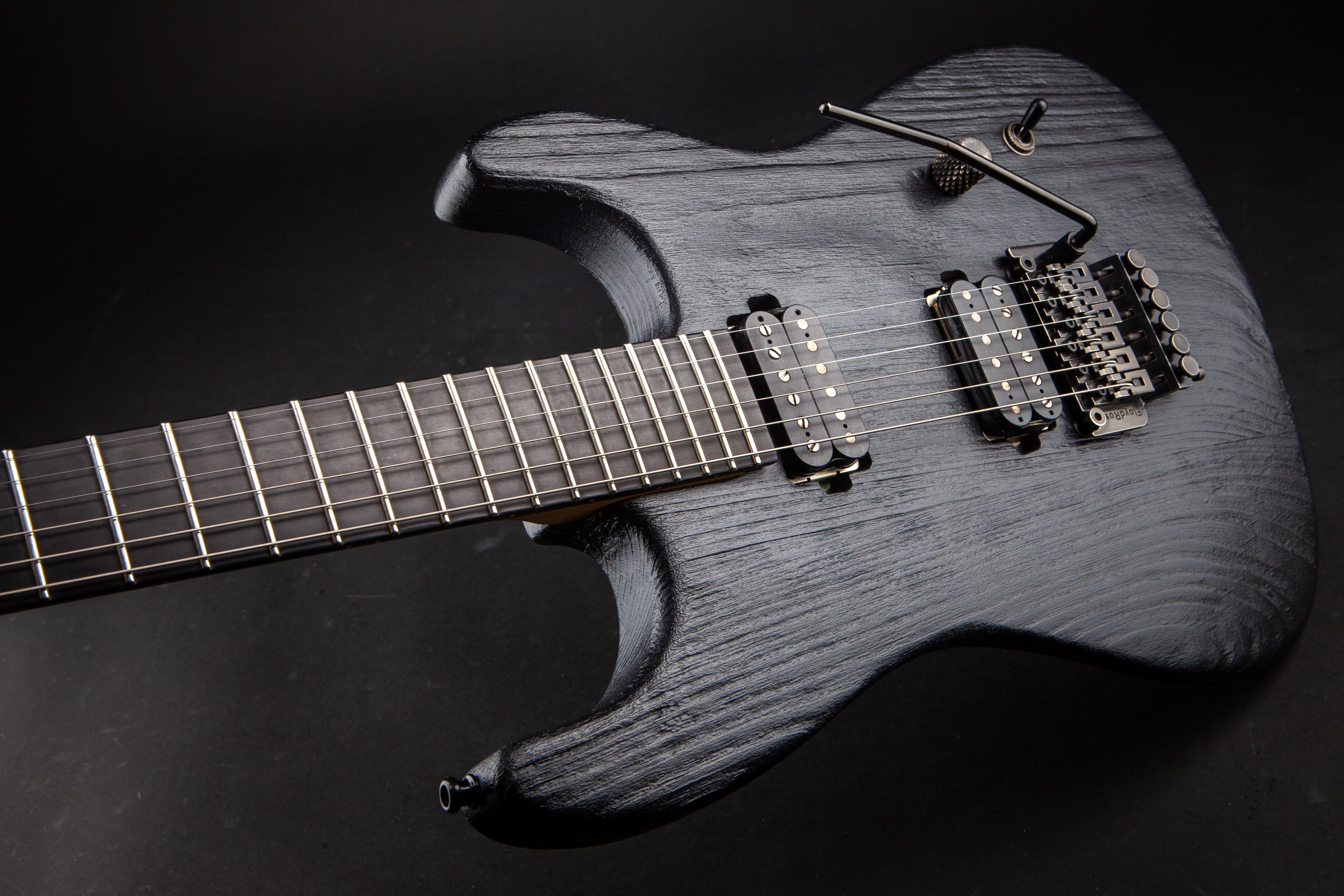 Luxxtone:El Machete Textured Black #0074
