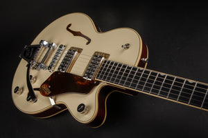 Grestch Guitars:G6659T Players Edition Broadkaster Jr.  2 Tone Lotus Ivory #JT19104129
