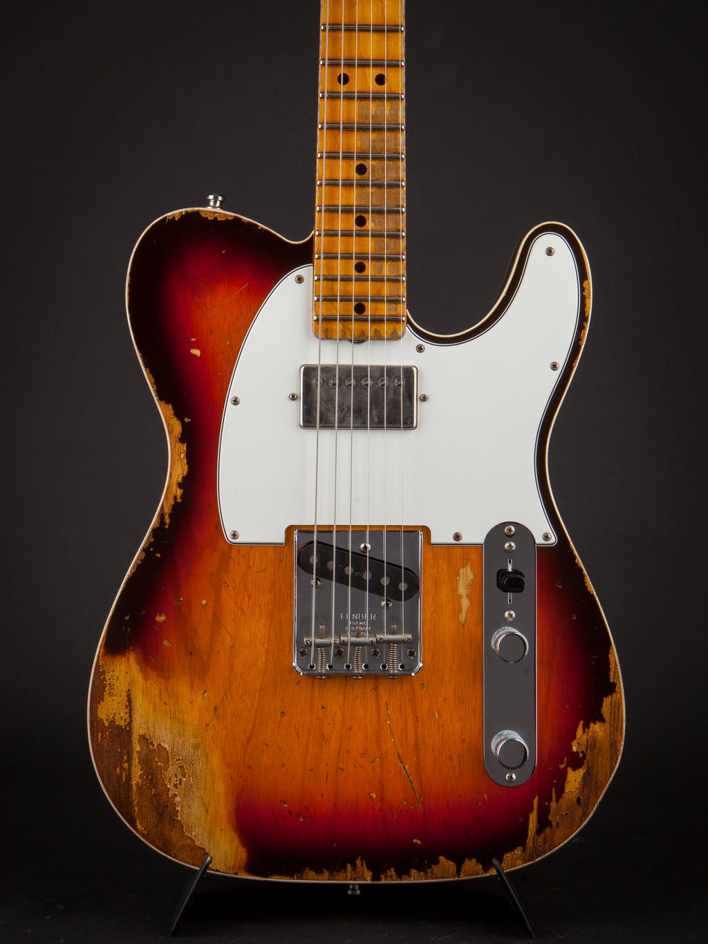 Fender Custom Shop:67 Telecaster Heavy Relic 3-Tone Sunburst #R97664