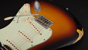 Smitty Guitars Classic S Sunburst with Flame Neck