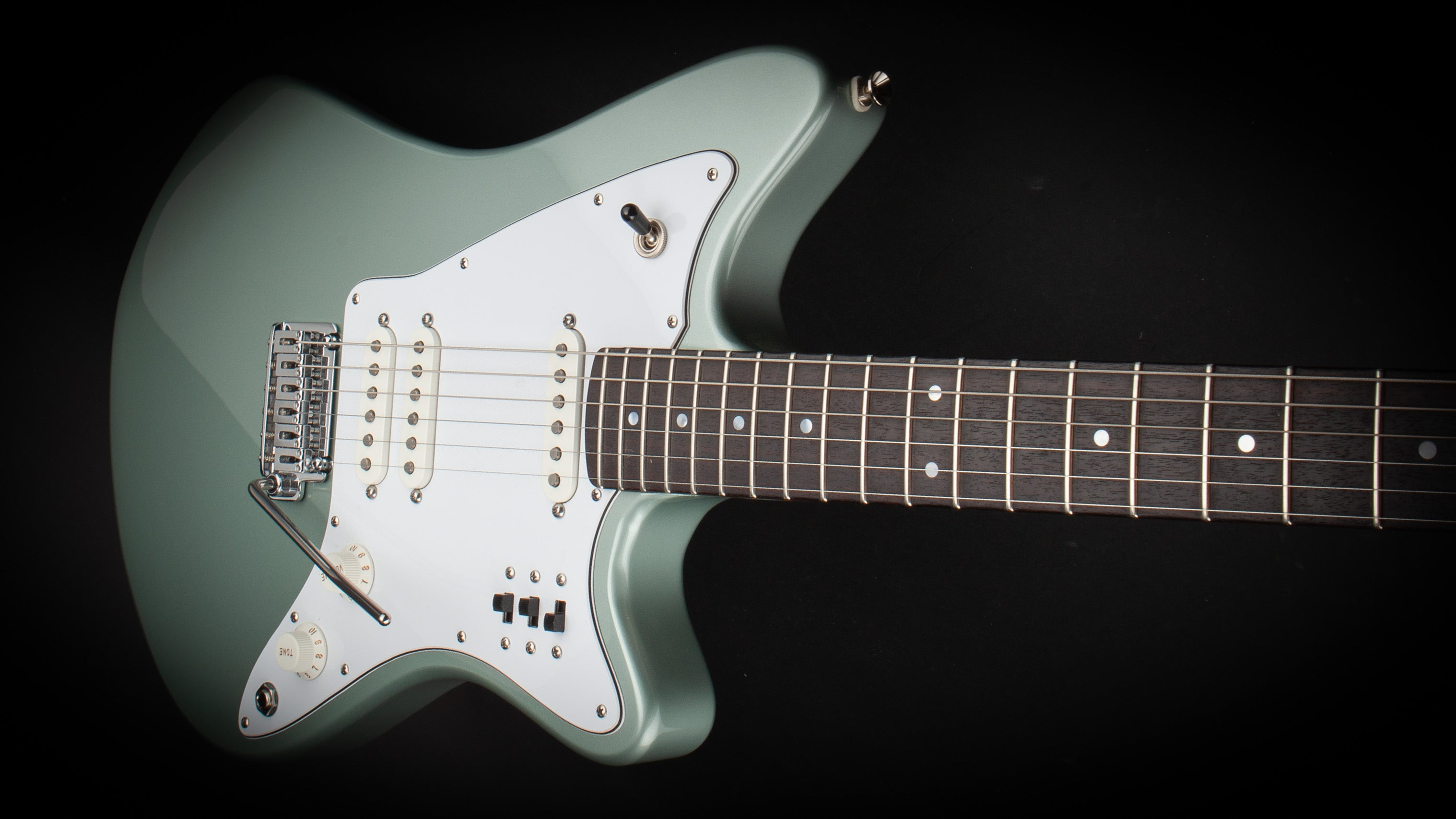 Smitty Guitars: Model 3 Non Aged Mosport Green
