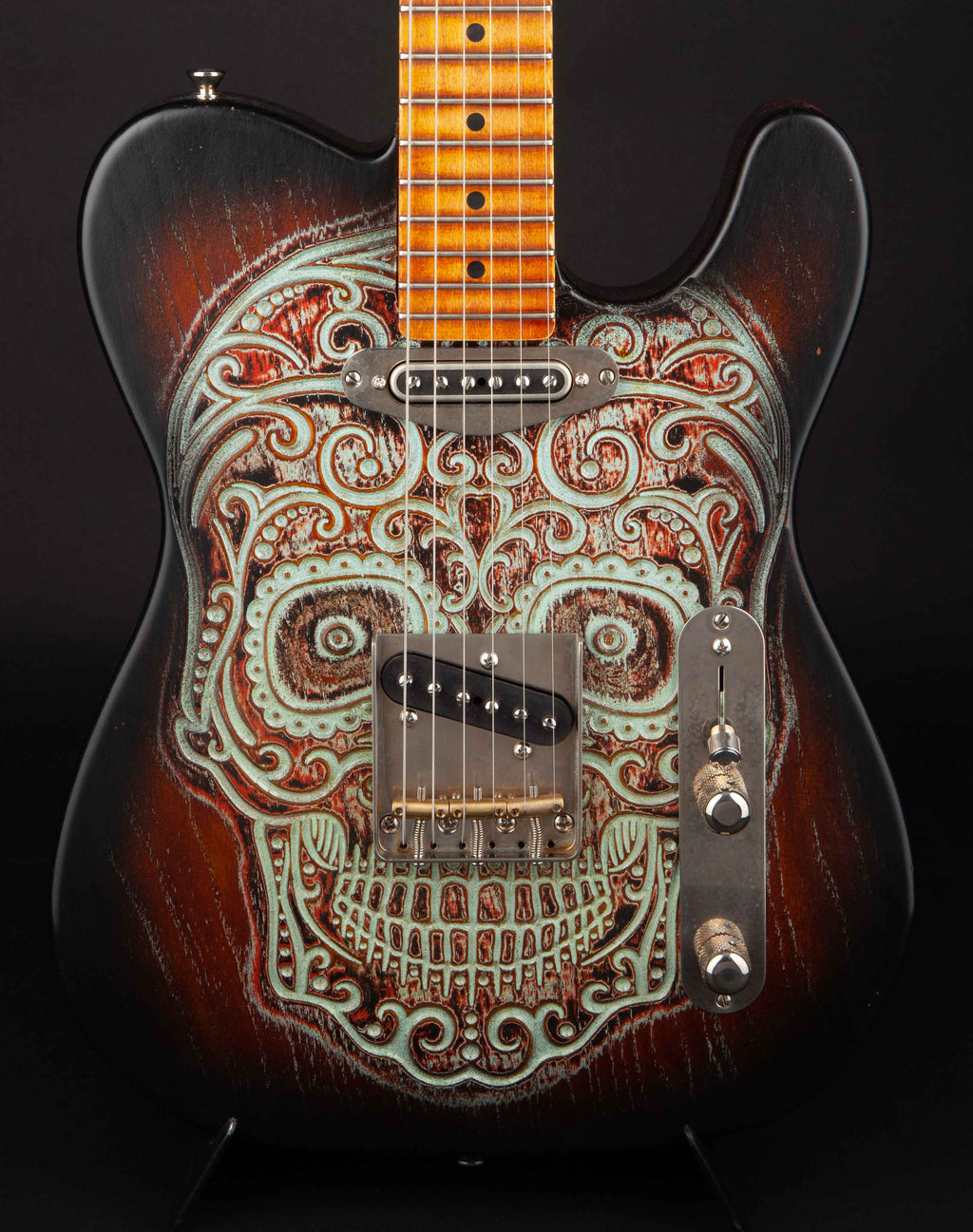 Palir Guitars Titan Day of the Dead Summer Namm 2018 Special #627181