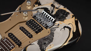 Vigier Guitars: Excalibur Original 'Rock Art' #170086
