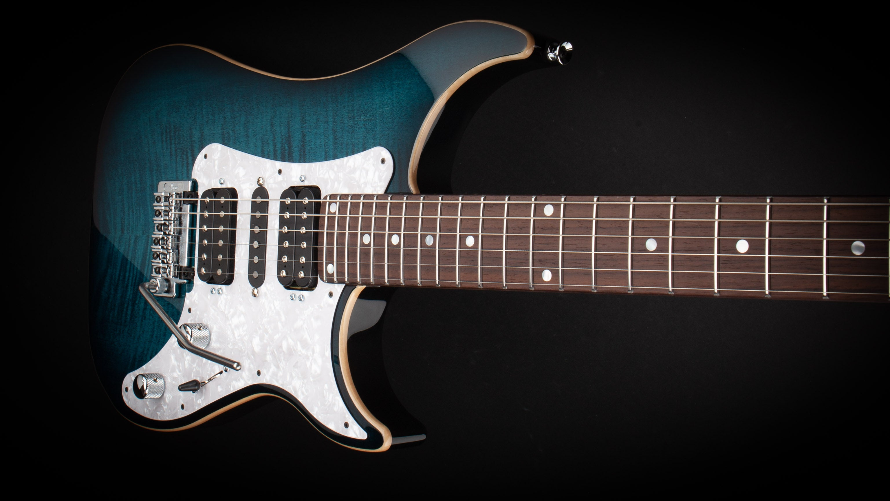 Vigier Guitars: Excalibur Special Mysterious Blue #170081