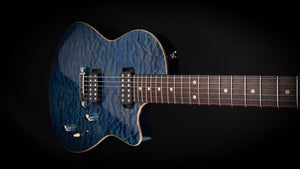 Tom Anderson Atom Hollow Jack's Blue Quilt #07-10-06N