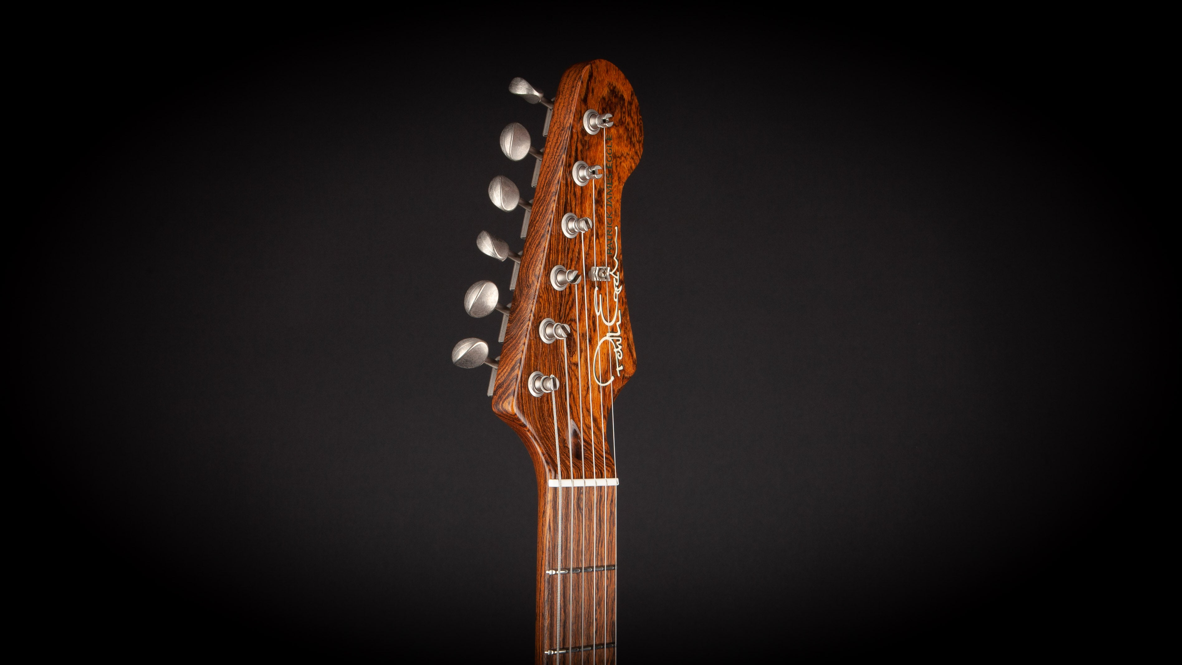 Patrick James Eggle:96 Drop Top Maple/Black Limba with Mastergrade Neck #020211