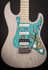 Patrick James Eggle 96 Swamp Ash White #11843