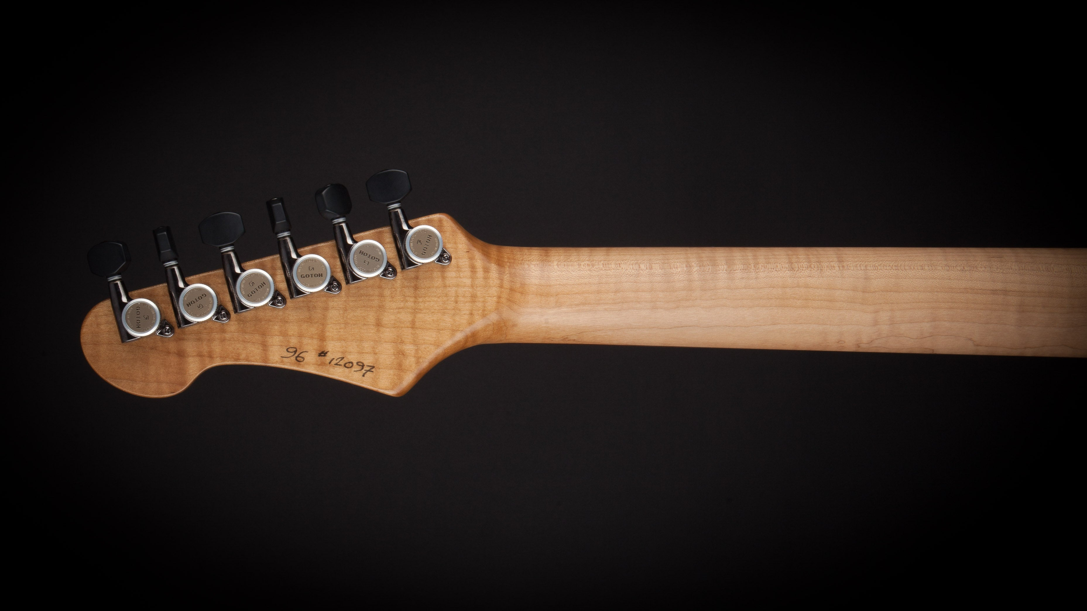 Patrick James Eggle 96 Drop Top Twin Flame Maple #12097
