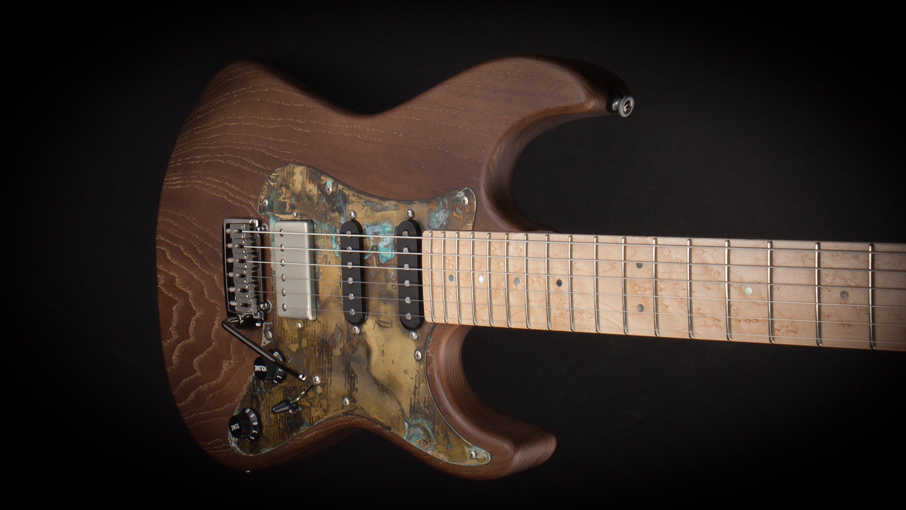 Patrick James Eggle 96 HSS Swamp Ash Brown #10163