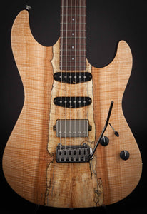Patrick James Eggle 96 Drop Top Twin Spalted Maple #10728