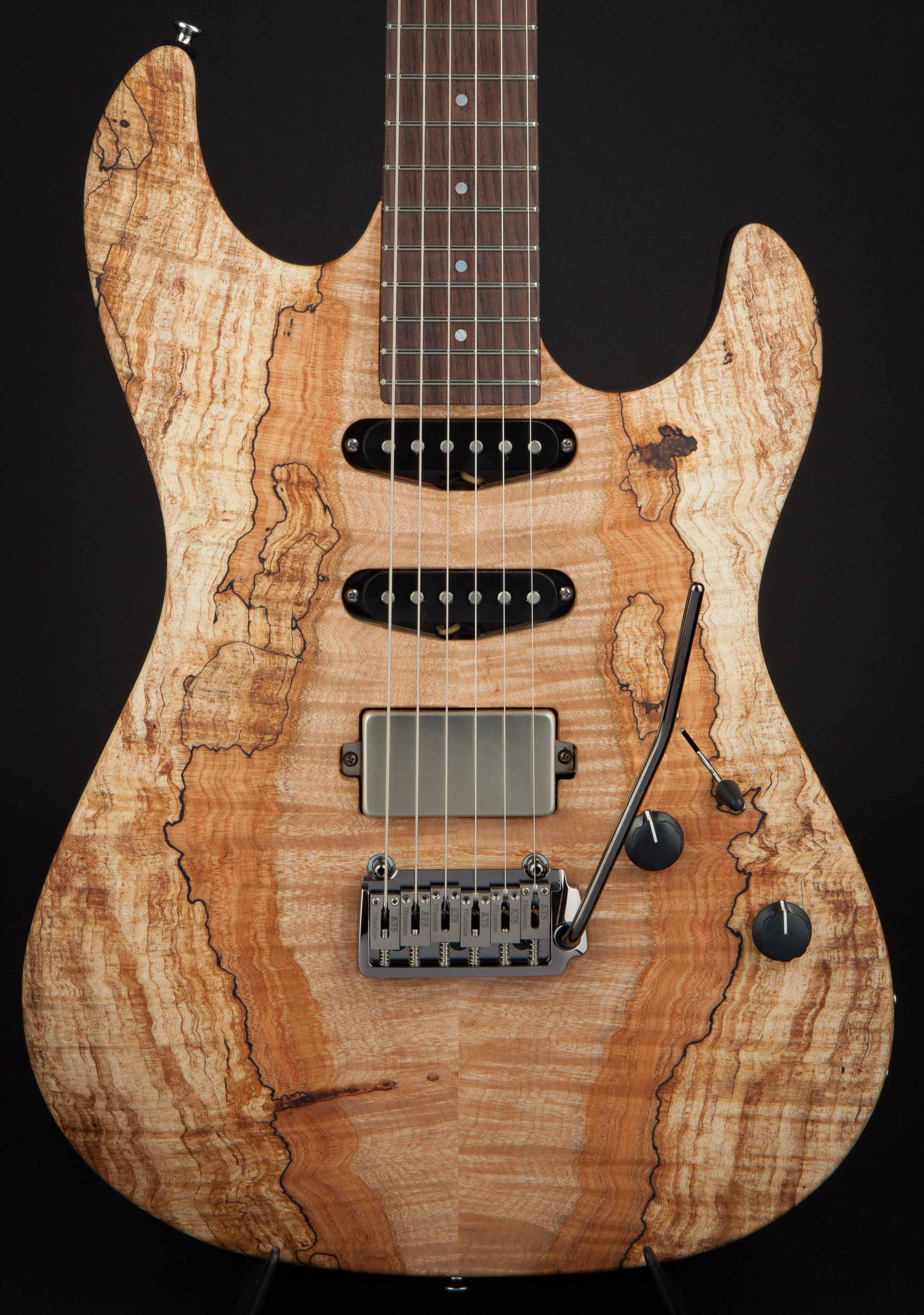 Patrick James Eggle 96 Drop Top Spalted Maple #17591