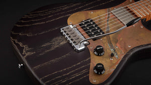 Patrick James Eggle 96 HH Swamp Ash Black #13706
