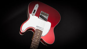 Fender Custom Shop:60 Telecaster Custom Journeyman Candy Apple Red #R100507