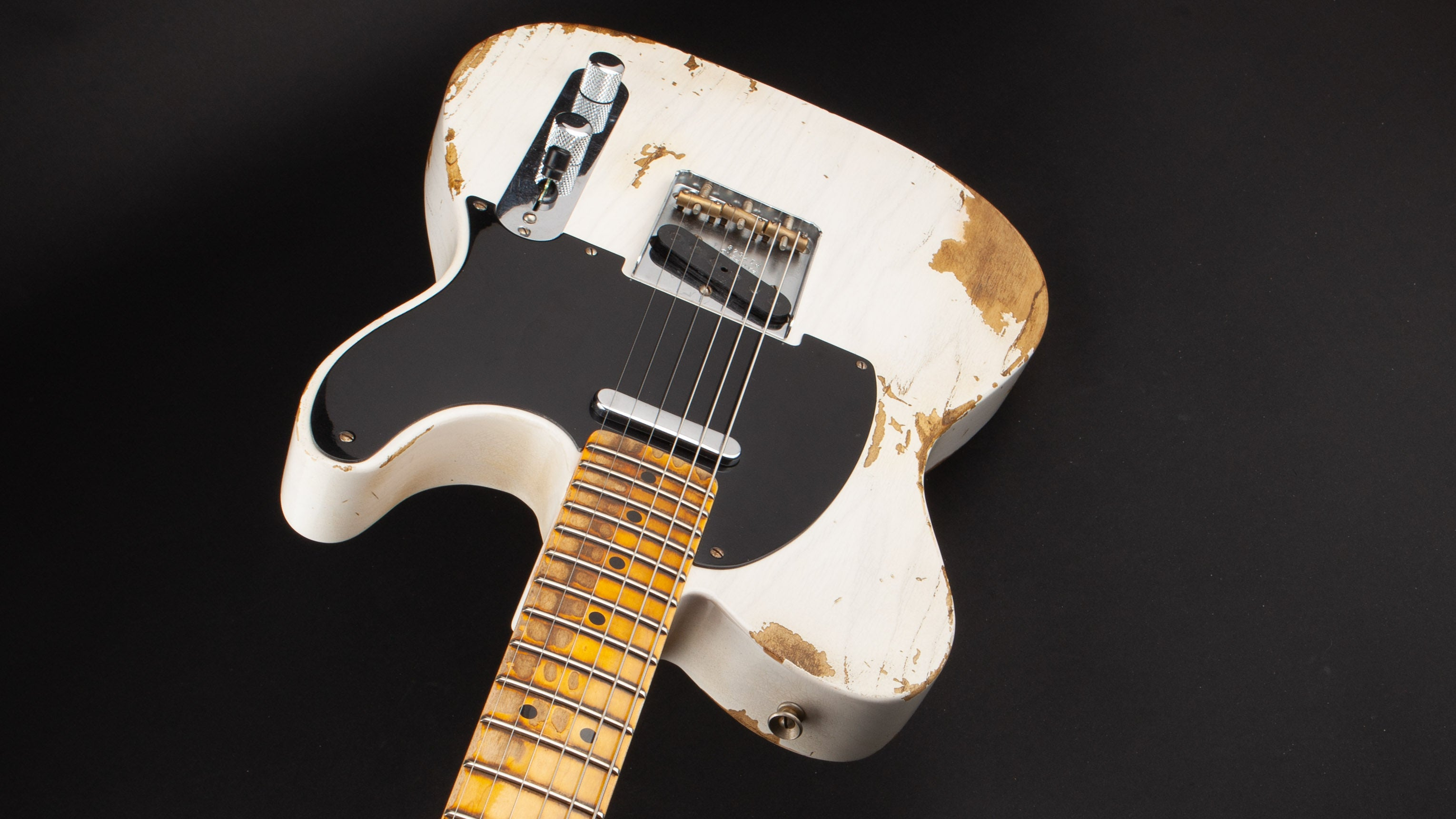 Fender Custom Shop:51 Nocaster Heavy Relic White Blonde #R17548