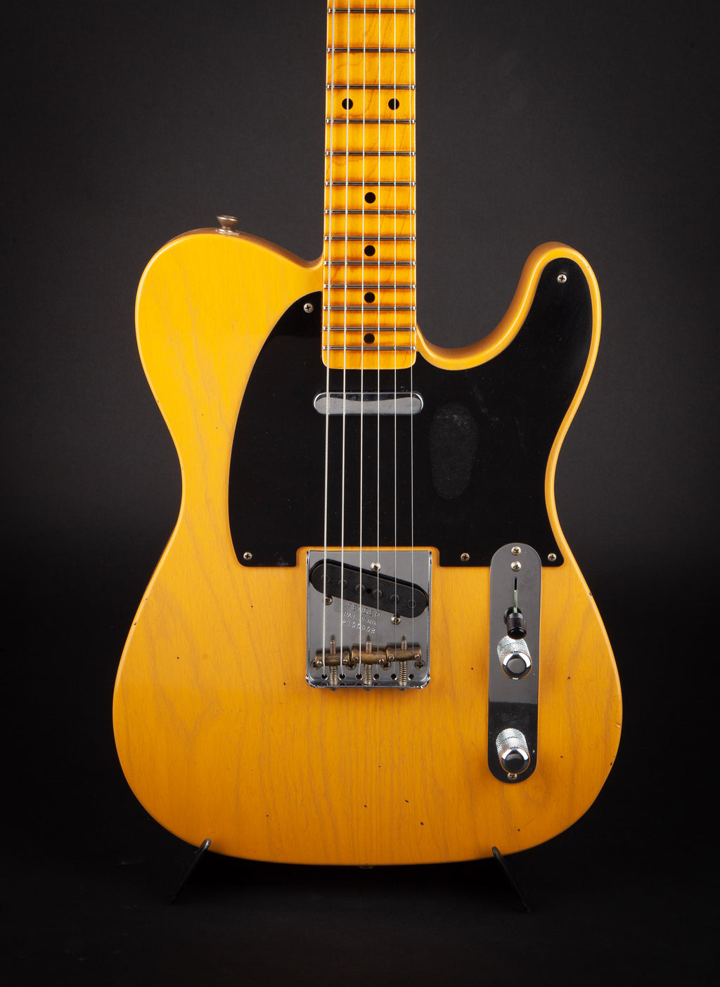 Fender Custom Shop: 52 Telecaster Butterscotch Journeyman #R100908