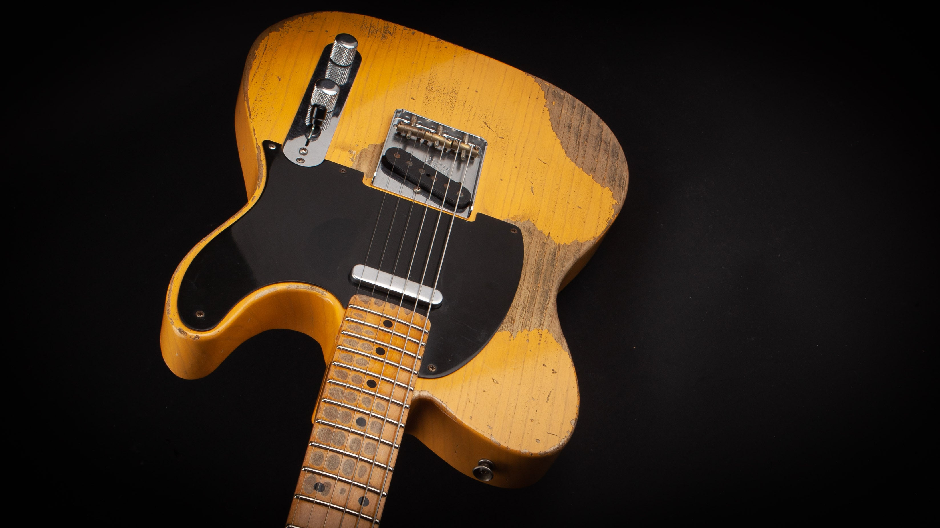 Fender Custom Shop 52 Telecaster Heavy Relic Butterscotch Blonde #R16756