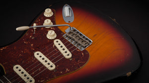 Fender Custom Shop Stratocaster 63 3 Tone Sunburst #R78026