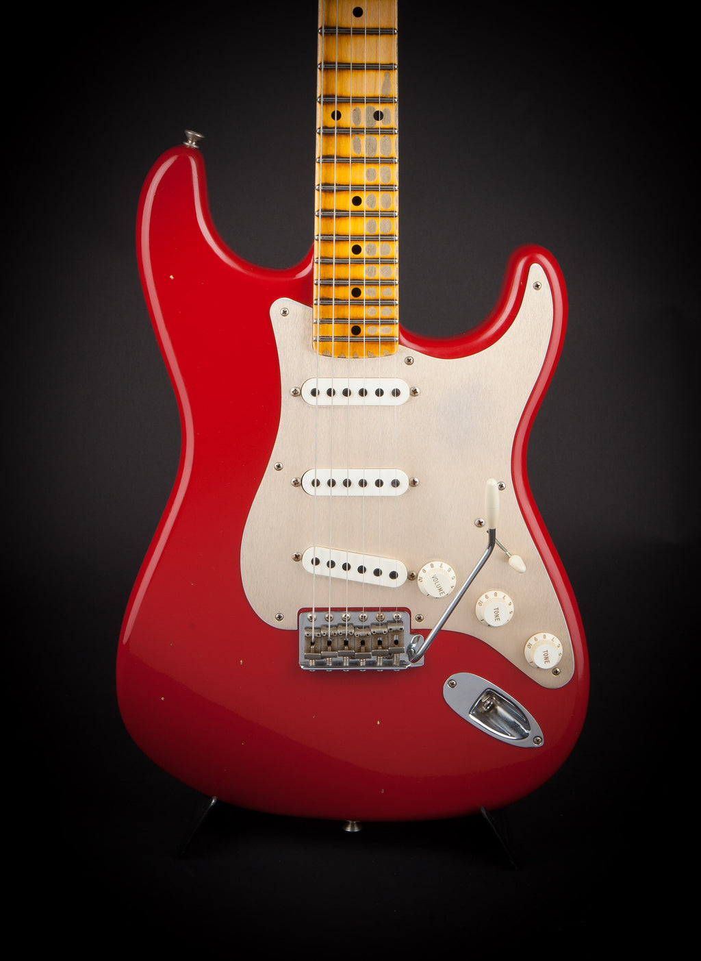 Fender Custom Shop: 57 Stratocaster Seminol Red Journeyman Relic #R91935