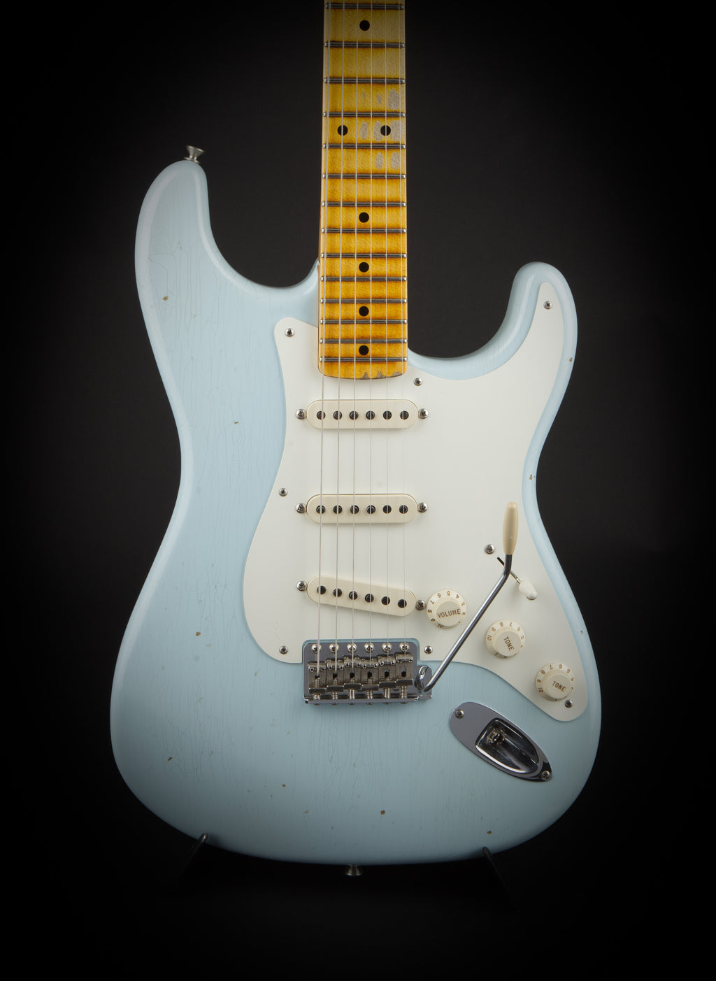 Fender Custom Shop: 55 Stratocaster Sonic Blue #R92809