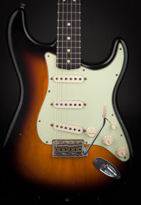 Fender Custom Shop Stratocaster 62 2 Tone Sunburst Ash Body #R85001