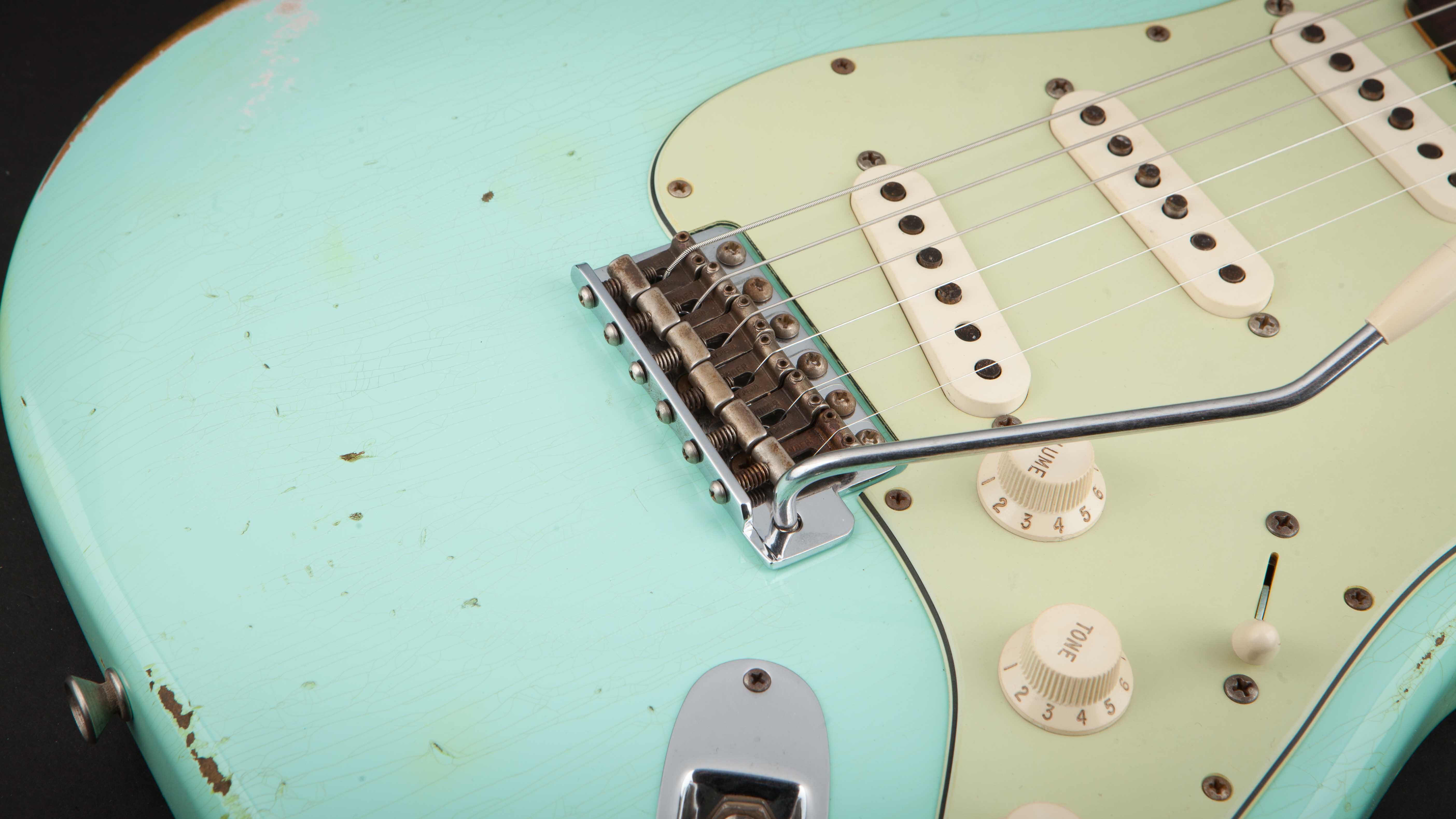 Fender Custom Shop Stratocaster 60 Surf Green Relic #R84347