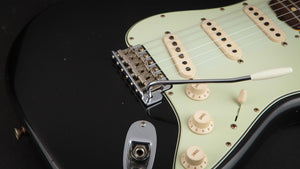 Fender Custom Shop:60 Stratocaster Black #R98728