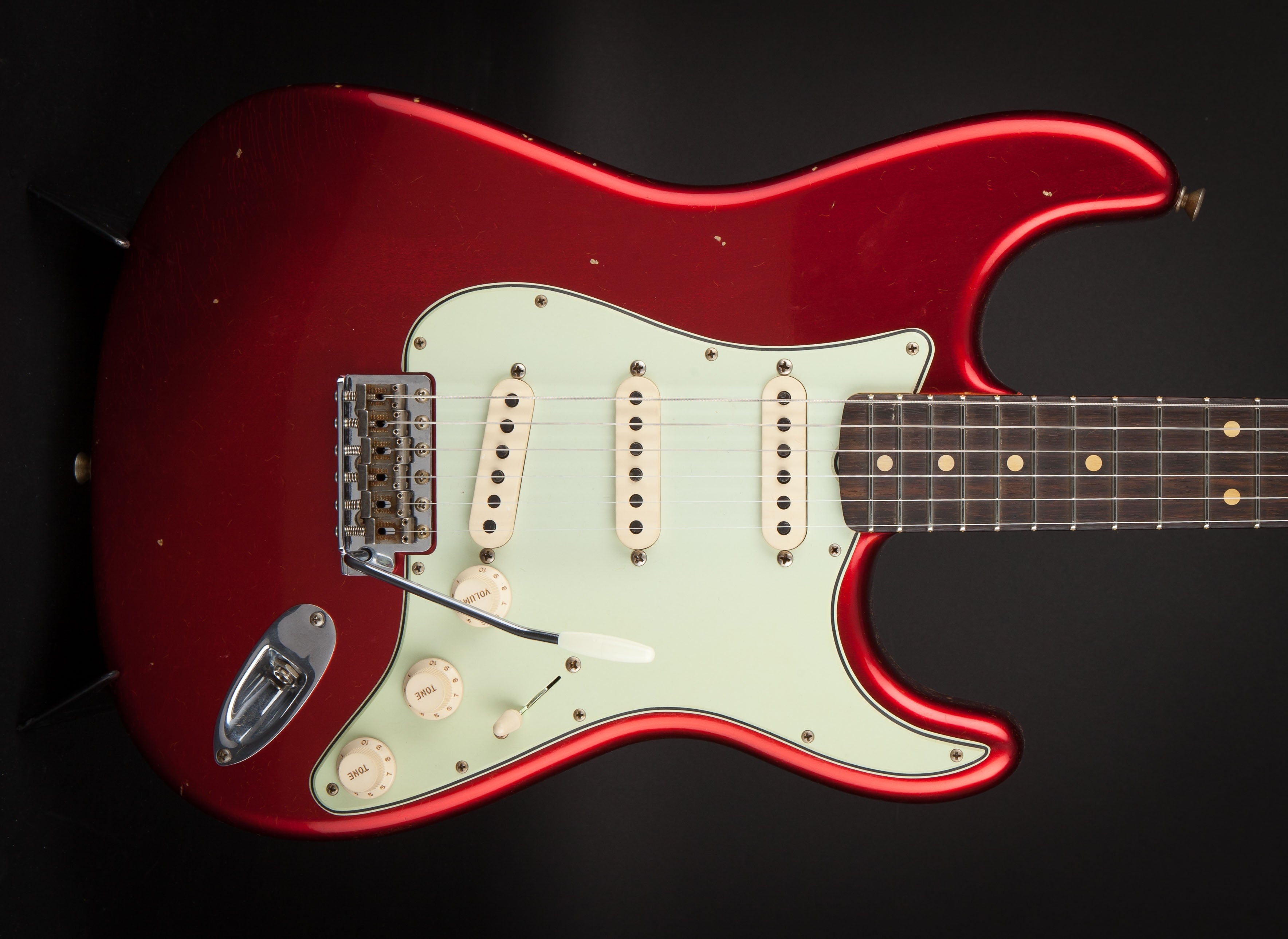 Fender Custom Shop:60 Stratocaster Candy Apple Red #R98596