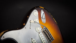Fender Custom Shop: El Diablo Stratocaster Faded 2 Colour Sunburst Ltd #CZ528792