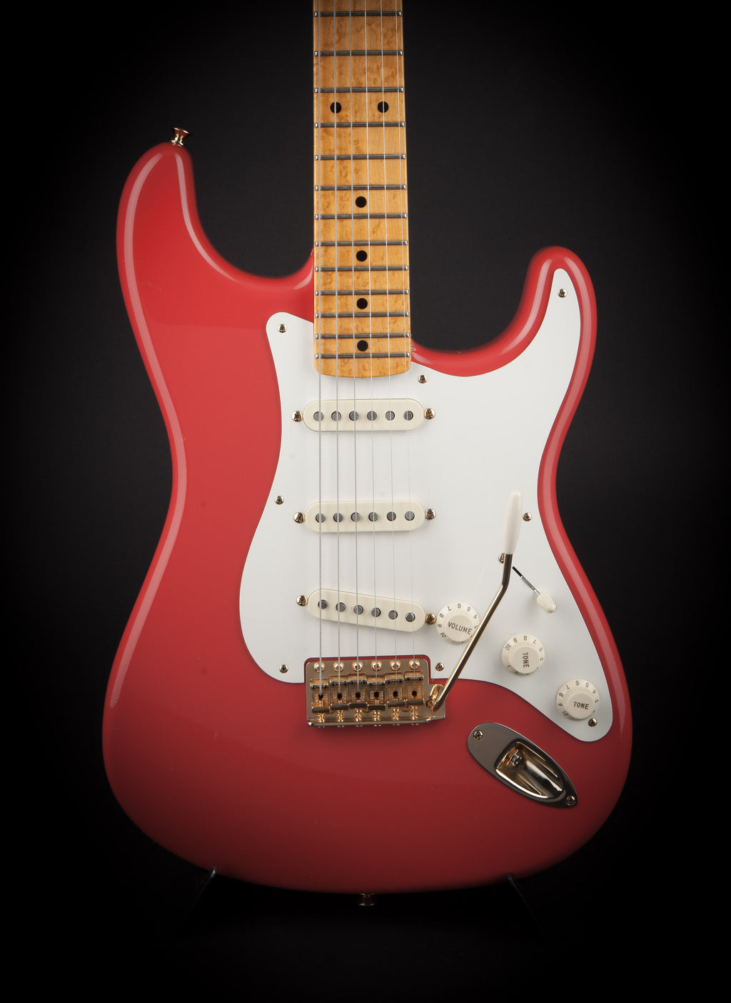 Fender Custom Shop: 59 Stratocaster NOS Fiesta Red Master Builder designed by Greg Fessler R80651