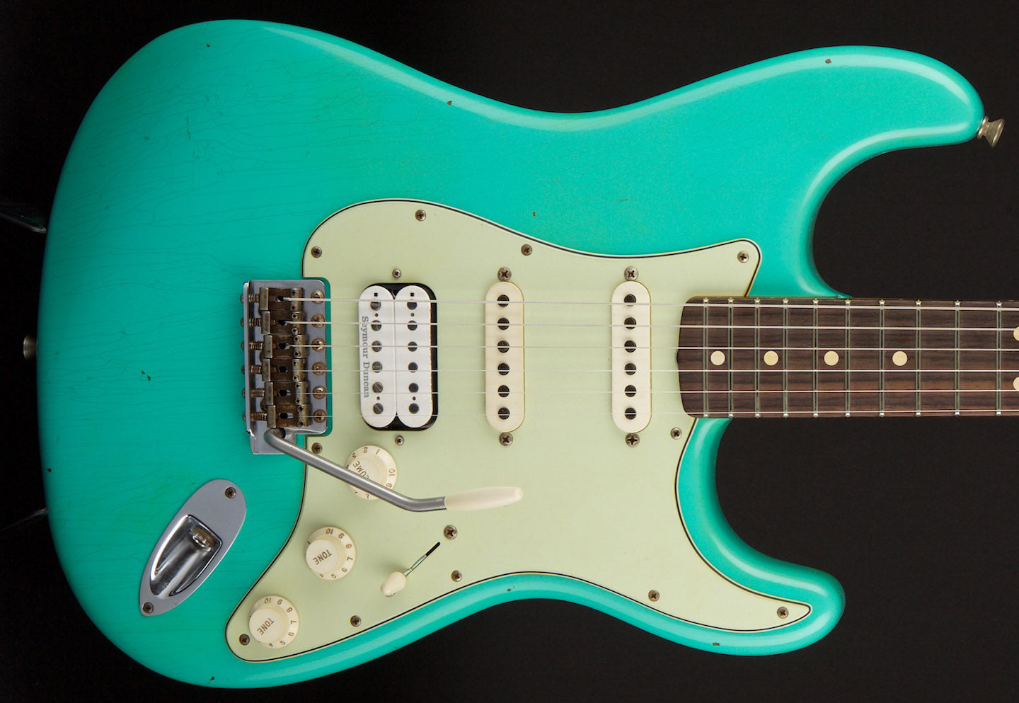 Fender Custom Shop Stratocaster WG/John Cruz Spec 63  Journeyman Relic Sea Foam Green #R82592