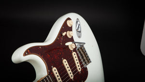 Fender Custom Shop:60 Stratocaster Journeyman Olympic White R98902