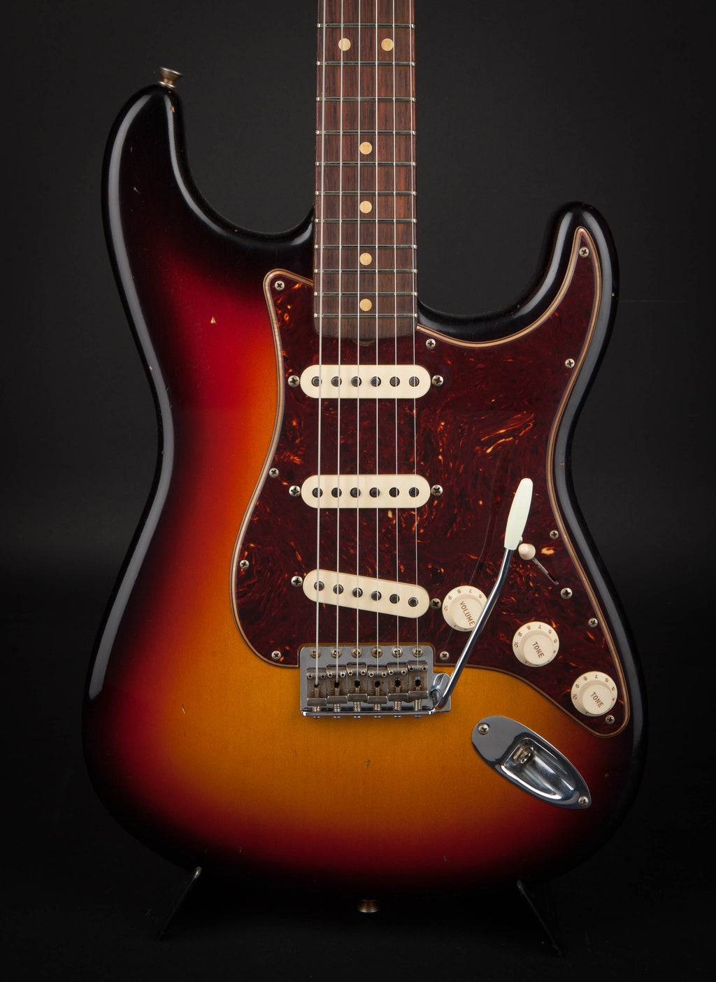 Fender Custom Shop:63 Stratocaster Journeyman 3 Colour Sunburst R100299