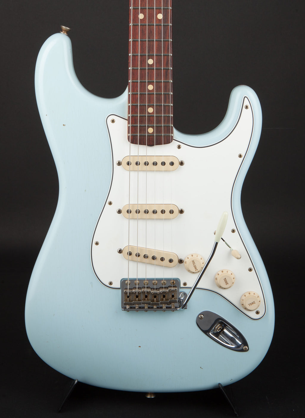 Fender Custom Shop:63 Stratocaster Journeyman Sonic Blue R100546